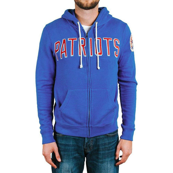 28609ea59 New England Patriots - Letter Logo Sunday Adult Zip Hoodie