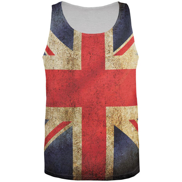 British Flag All Over Adult Tank Top