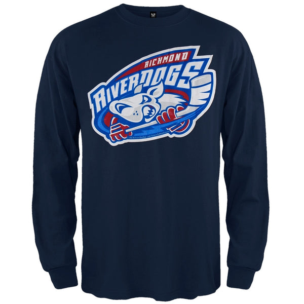 Richmond Riverdogs - Mad Dog Adult Long Sleeve T-Shirt