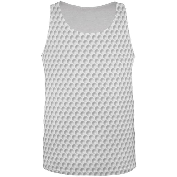 Golf Ball All Over Adult Tank Top