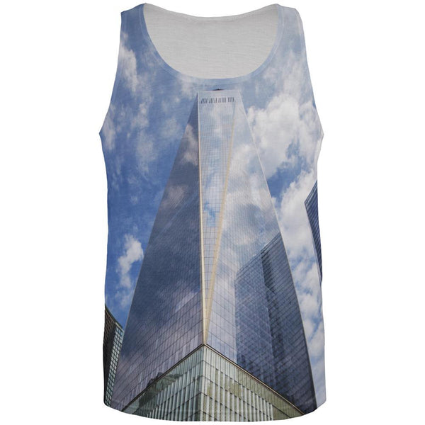 Freedom Tower All Over All Over Adult Tank Top