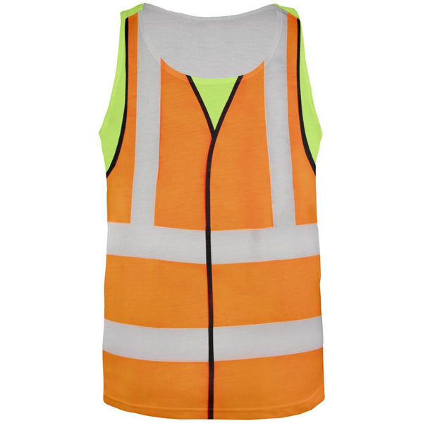 Halloween Road Worker Costume All Over Adult Tank Top
