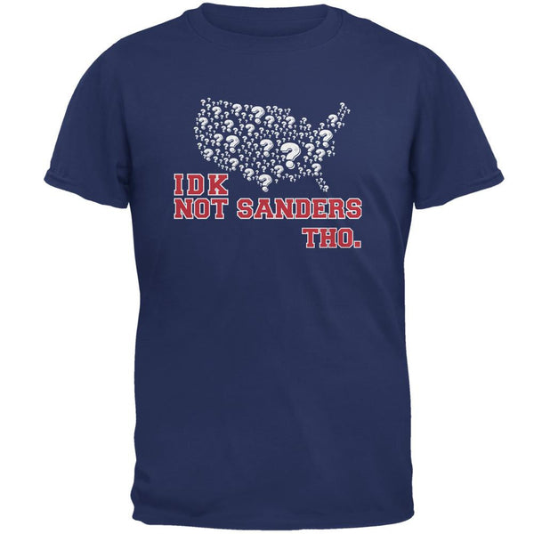 Election IDK Not Sanders Tho Metro Blue Adult T-Shirt