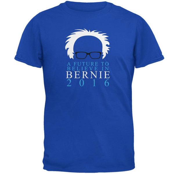 Election Bernie Sanders Future To Believe In Royal Adult T-Shirt