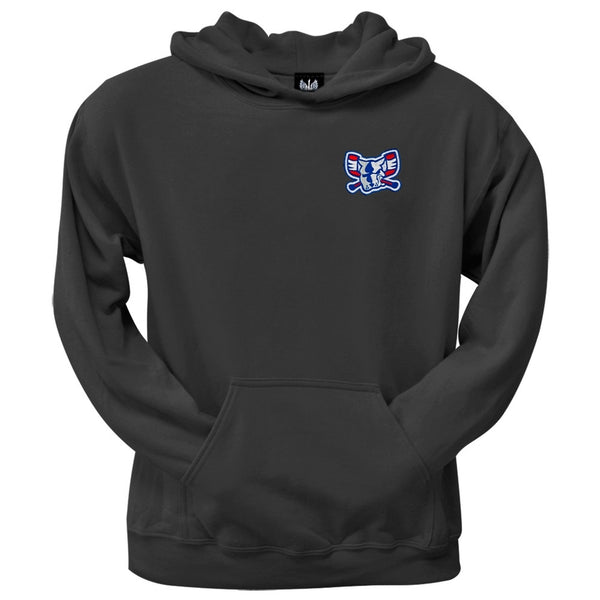 Richmond Riverdogs - Mad Dog Crest Logo Black Hoodie