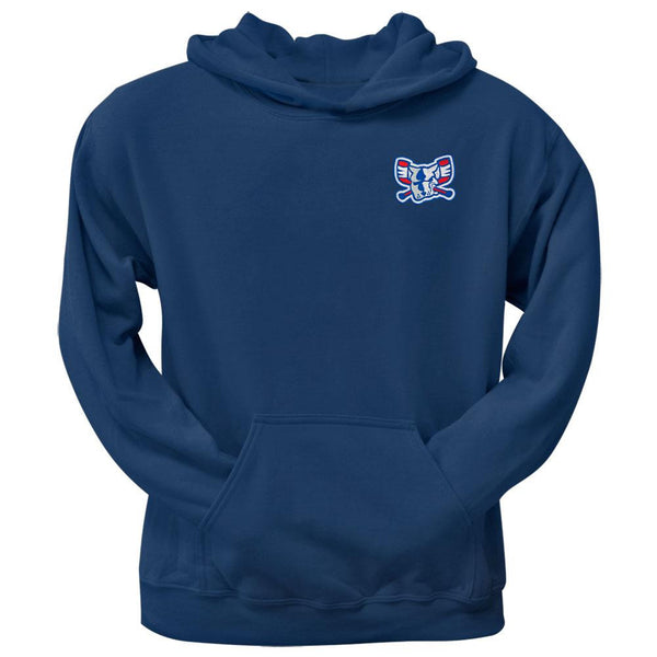 Richmond Riverdogs - Mad Dog Crest Logo Navy Hoodie