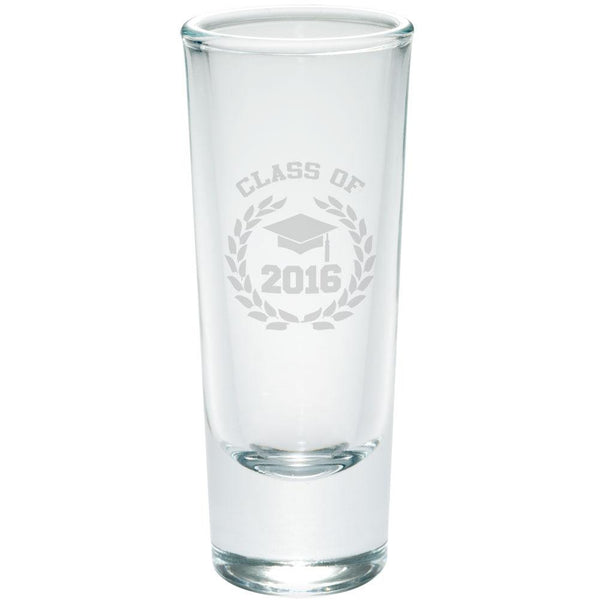 Class of 2016 Laurel Etched Shot Glass Shooter