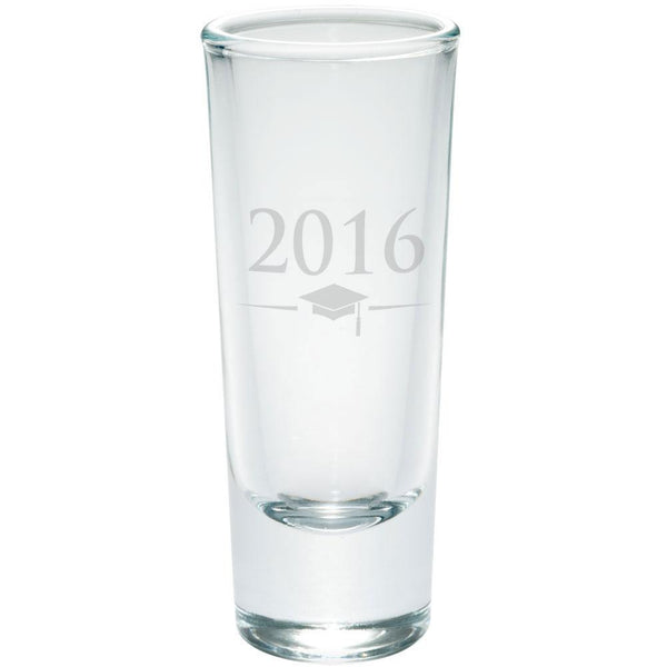 Graduation 2016 Etched Etched Shot Glass Shooter