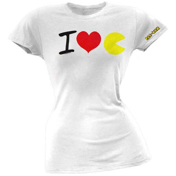 Pac-Man - Love Juniors T-Shirt