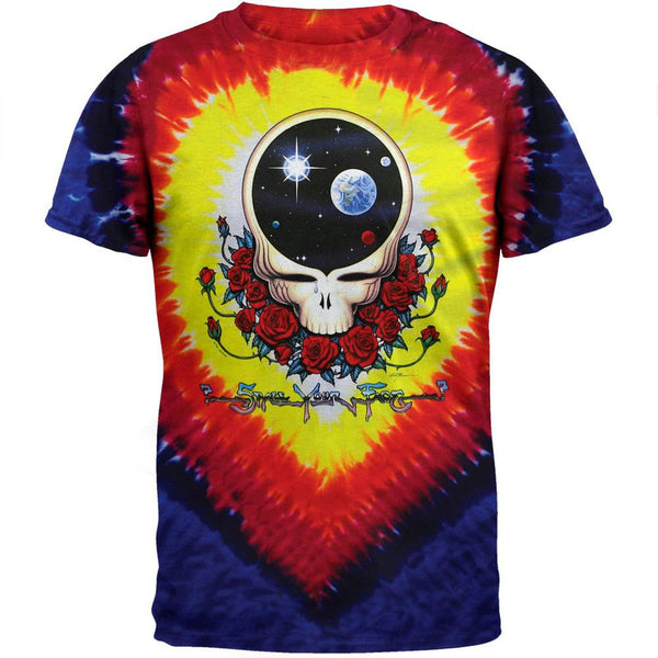 Grateful Dead - Space Your Face Tie Dye Mens T-Shirt