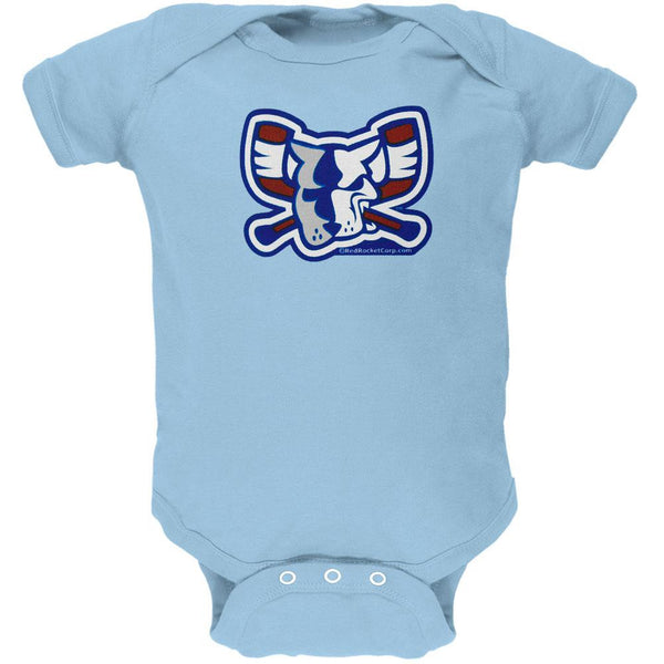 Richmond Riverdogs - Mad Dog Light Blue Baby One Piece