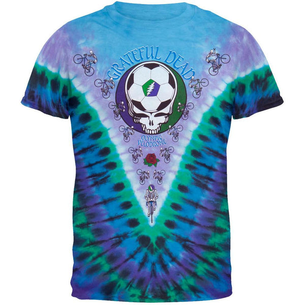 Grateful Dead - Olympic Velodrome Tie Dye T-Shirt - front view