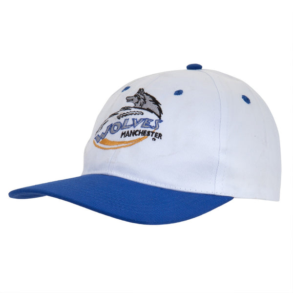 Manchester Wolves Baseball Cap - White/Royal