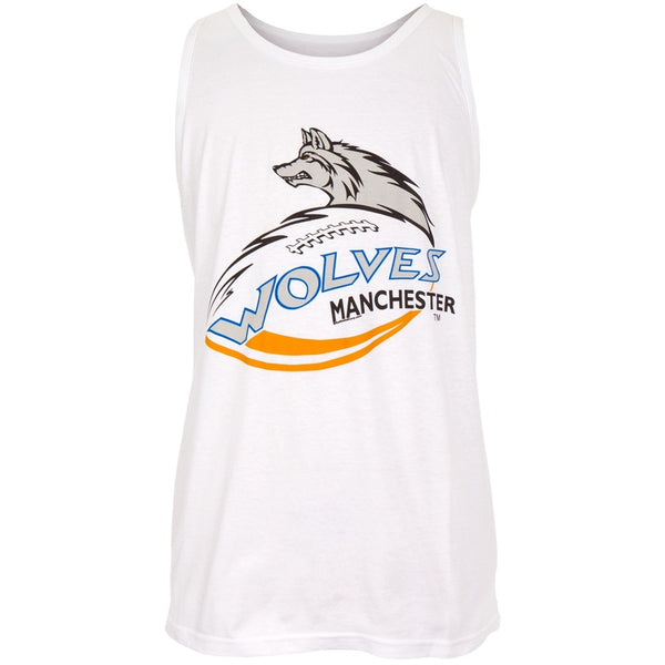 Manchester Wolves - Logo White Adult Tank Top