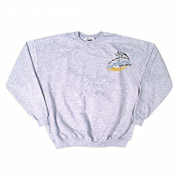Manchester Wolves - Embroidered Crest Grey Sweatshirt
