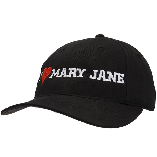 I Love Mary Jane Baseball Cap
