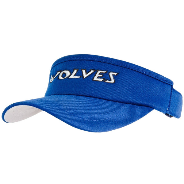 Manchester Wolves - Text Royal Youth Visor