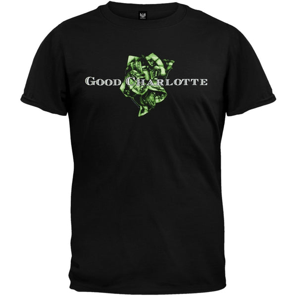 Good Charlotte - Crumbled Bill T-Shirt