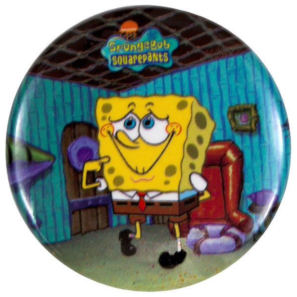 Spongebob - Bashful Bob Button Magnet