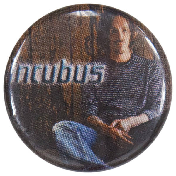 Incubus - Brandon Sitting Button
