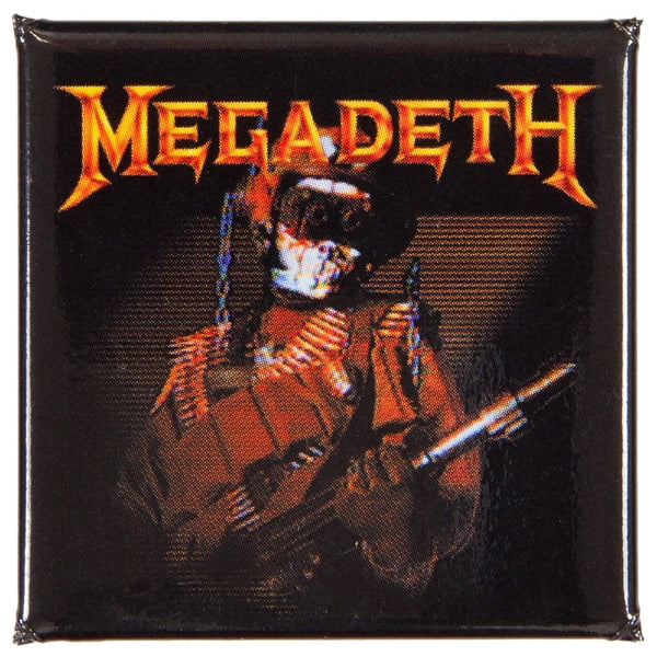 Megadeth - So What Button