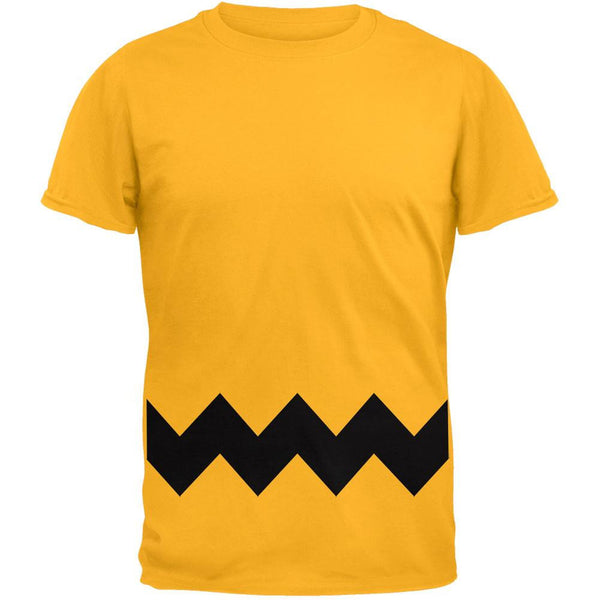 Halloween Yellow Zig Zag Costume T-Shirt