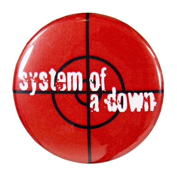 System Of Down - Target Button