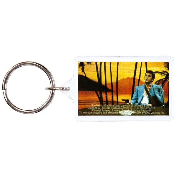 Scarface - Sunset Keychain