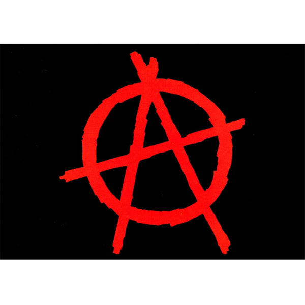 Anarchy - Postcard