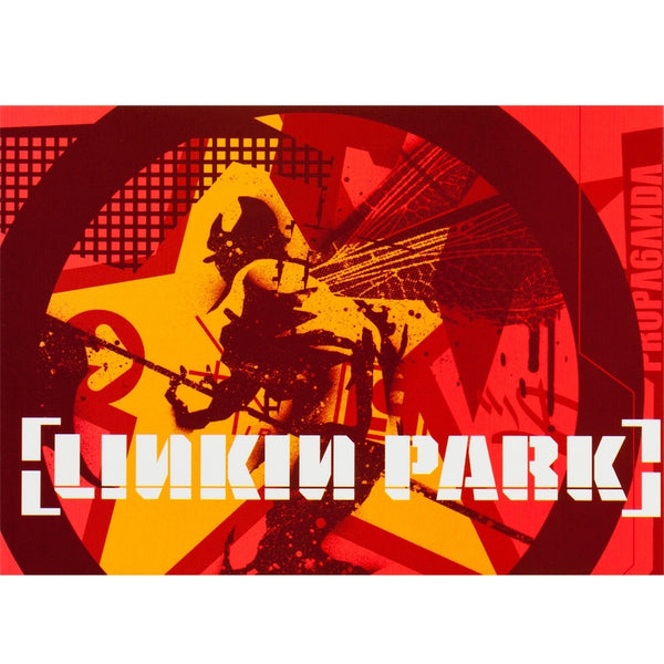 Linkin Park - Collage Postcard