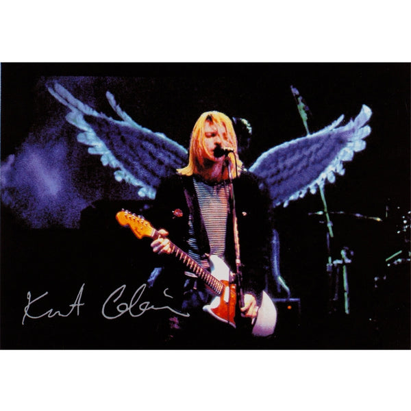 Nirvana - Kurt Angel Postcard