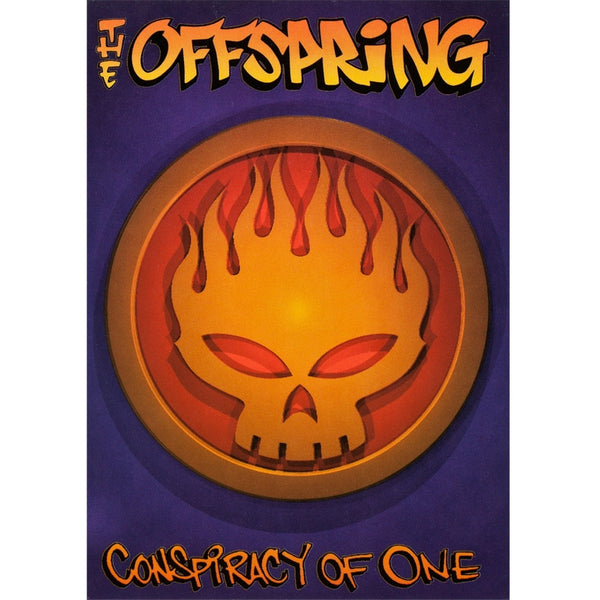 The Offspring - Skull Logo - Postcard