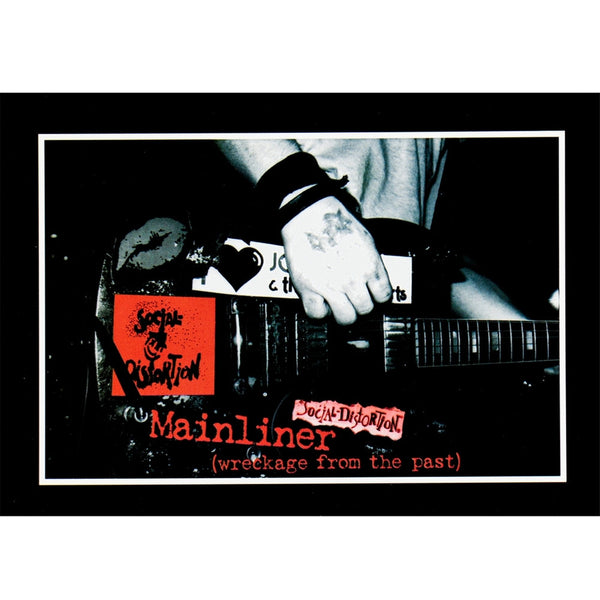 Social Distortion - Mainliner Postcard