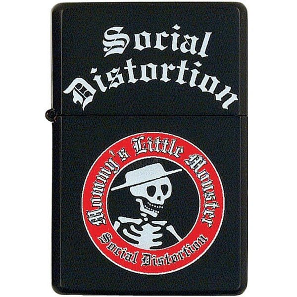Social Distortion - Lil Monster Refillable Lighter