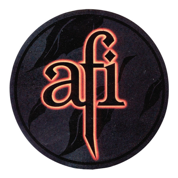 AFI - Glow Logo Decal