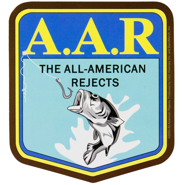 All-American Rejects - AAR Fishing Decal
