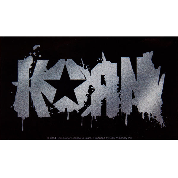 Korn - Splat Logo Decal