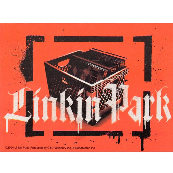 Linkin Park - Record Crate Decal