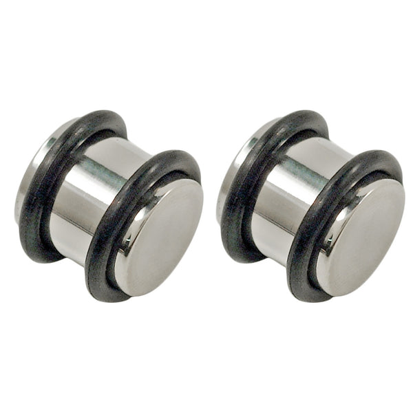 0G 316L Steel Solid Plugs