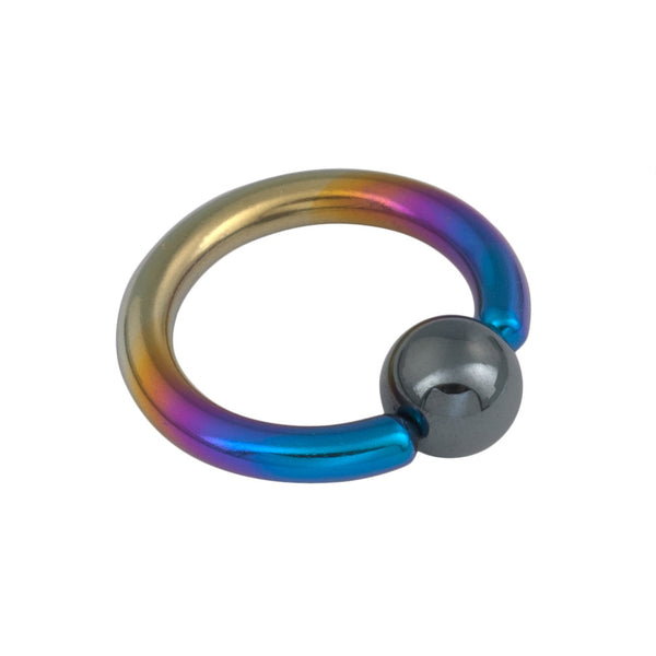 10G 1/2 Niobium Captive Ring