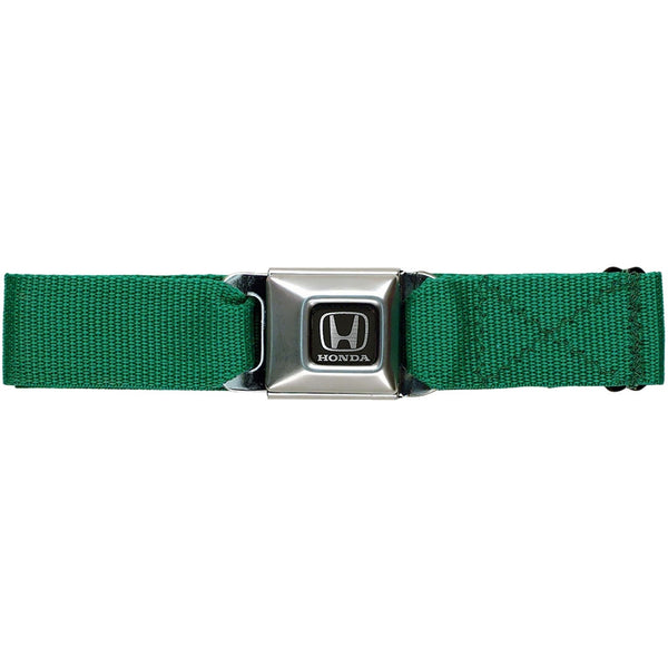 Honda Seatbelt - Kelly Green Web Belt