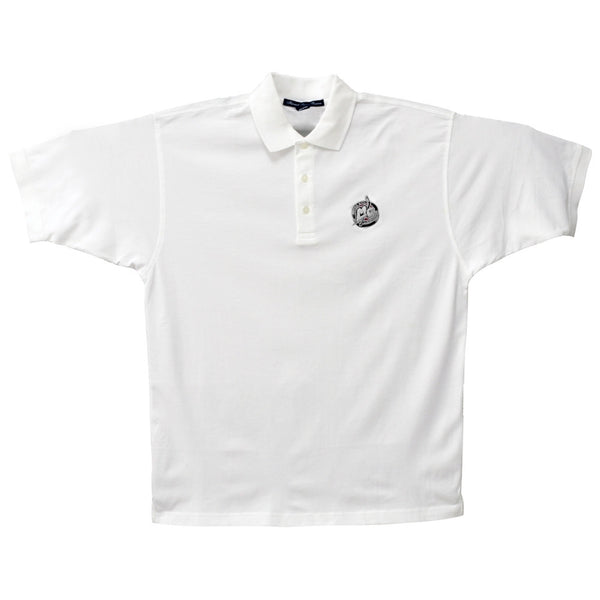 MotorCity Mechanics - White Logo Polo Shirt