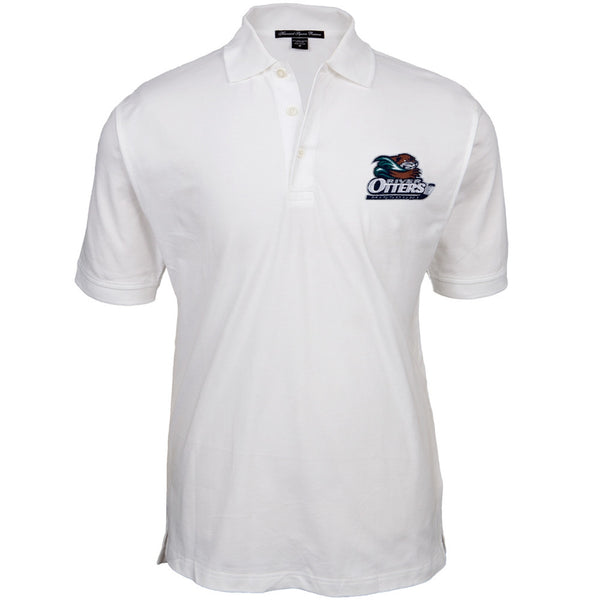 Missouri River Otters - Logo White Polo Shirt
