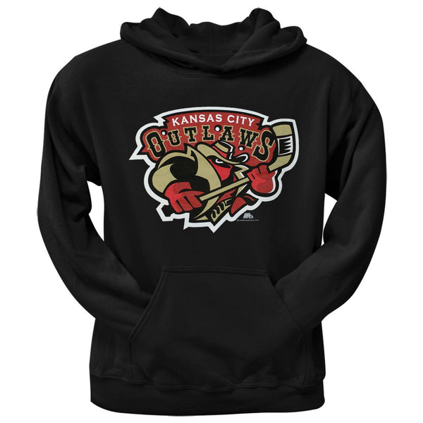 Kansas City Outlaws - Logo Black Youth Hoodie