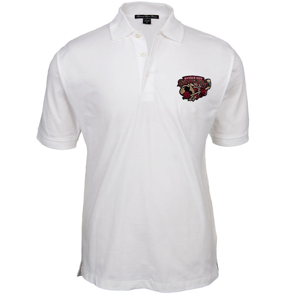 Kansas City Outlaws - Logo White Polo Shirt