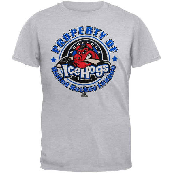 Rockford IceHogs - Property Of Rockford IceHogs Youth T-Shirt