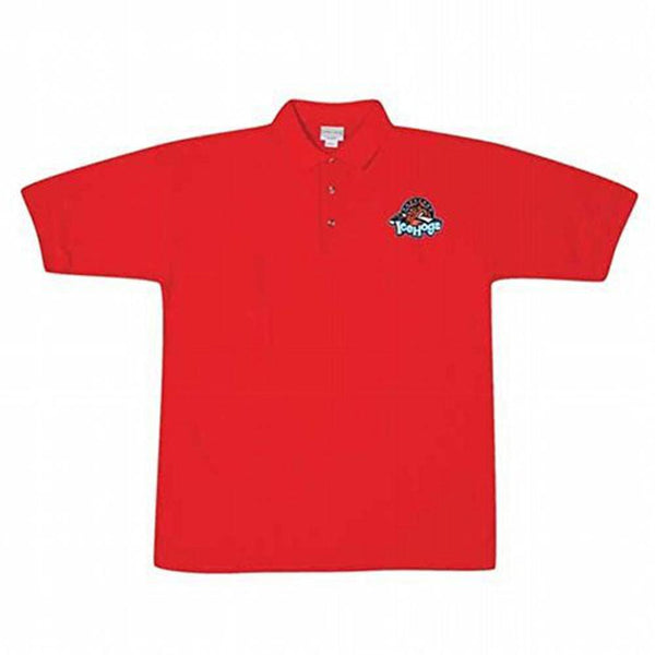 Rockford IceHogs - Logo Red Polo T-Shirt