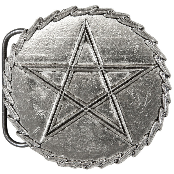 Classic Pentacle Belt Buckle