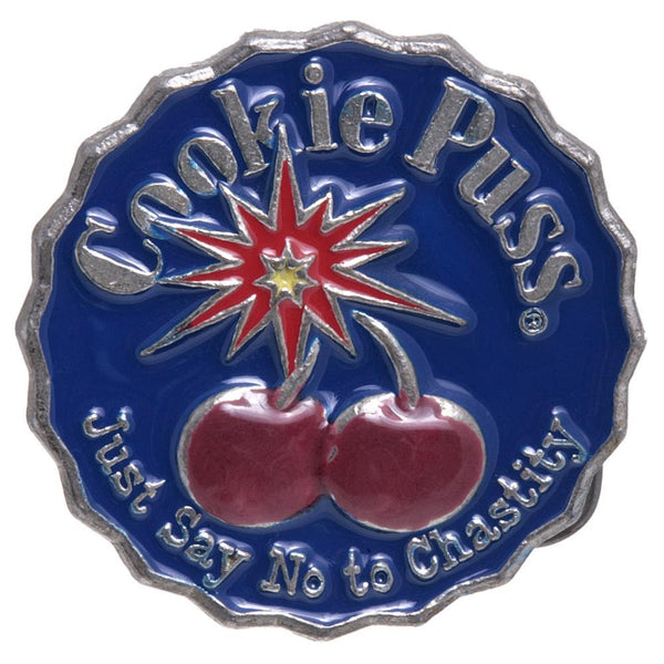 Cookie Puss - Chastity Belt Buckle