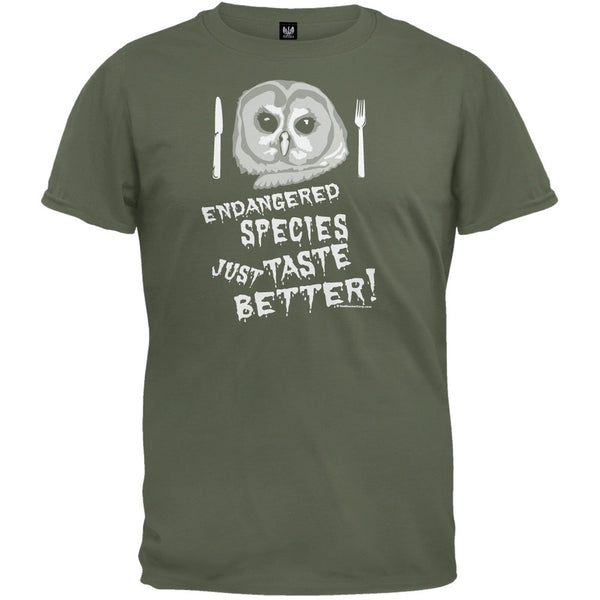 Endangered Species Taste Better T-Shirt